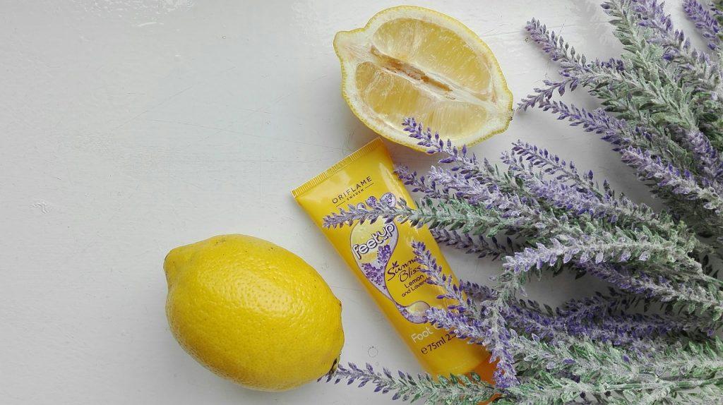 Crema lavanda y limón