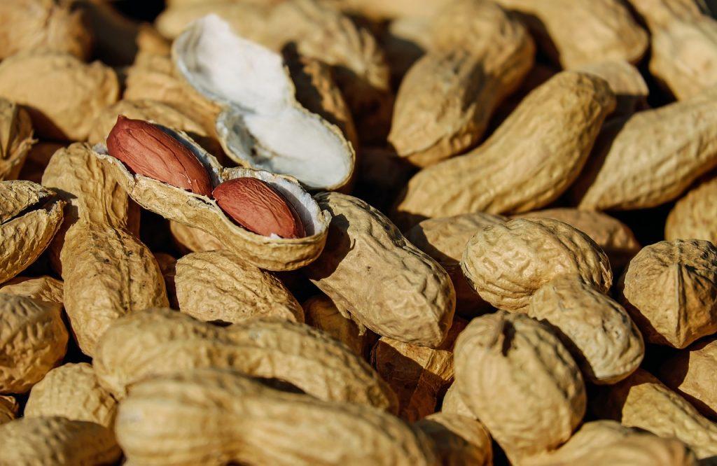 Cachuetes ricos en vitamina B12.