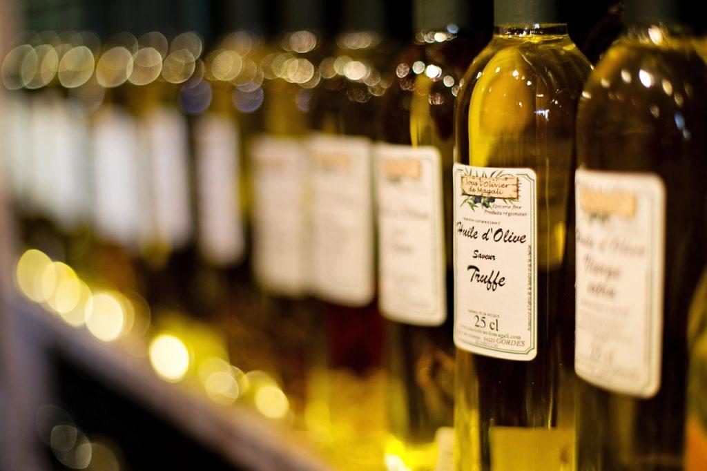 Aceite de oliva de trufa.