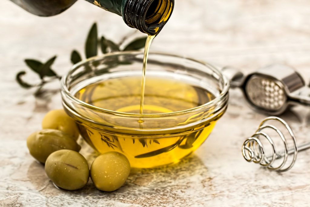 Aceite vegetal de oliva.