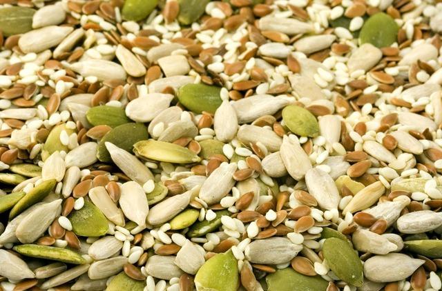 Las semillas de calabaza contienen excelentes sustancias nutritivas.