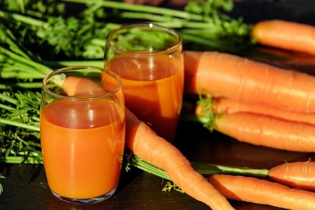 la zanahora es excelente para la piel